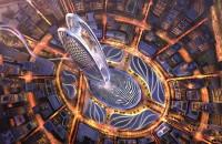 Un zgârie-nori care stă chiar pe amprenta digitală a șeicului Dubaiului Firma de investitii Dubai Holding, detinuta de stat, a prezentat recent detaliile unui amplu proiect de constructii care urmeaza sa fie demarat in urma World