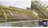 Impermeabilizarea și durificarea betonului prin cristalizare - Bazin de incendiu showroom BMW Târgu Mureș Soluția Penetron