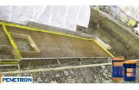 Impermeabilizarea și durificarea betonului prin cristalizare - Bazin de incendiu showroom BMW, Târgu Mureș