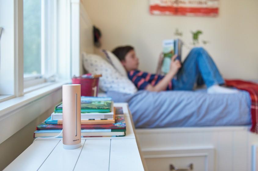 Soluţia inteligentă pentru măsurarea calităţii aerului din casa ta