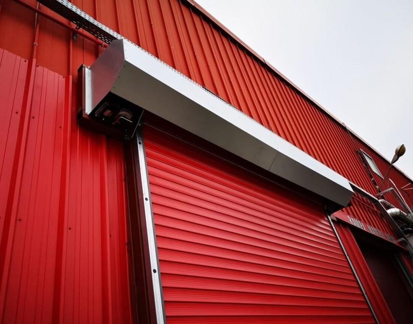 Unde putem instala o ușă tip rulou și care sunt avantajele?