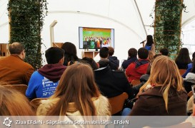 100 de specialisti si studenti romani  au participat la Saptamana Sustenabilitatii EFdeN