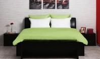 Spatiu mic - amenajare aerisita O lenjerie de pat din fibra de bambus 100% este foarte