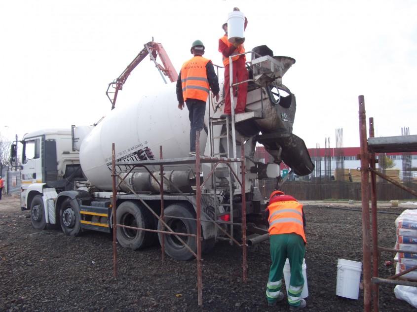 Noua generație de hidroizolații speciale, încă din faza de turnare a betonului
