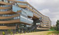 """Birourile MVRDV din Paris cladire hiper-eficienta Birourile """"Pushed Slab"""" proiectate de catre firma de arhitectura MVRDV"""