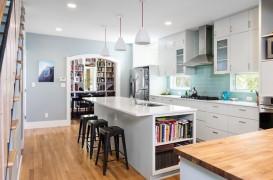 Exemple de materiale confortabile pentru pardoseala din bucătărie