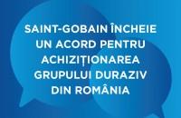 Saint-Gobain cumpără grupul Duraziv din România