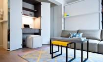 Birouri si spatii de lucru amenajate in dulapuri, perfecte pentru apartamentele mici