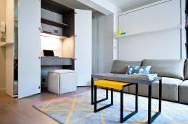 Birouri şi spaţii de lucru amenajate în dulapuri, perfecte pentru apartamentele mici
