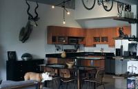 Un loft pentru un medic stomatolog pasionat de designul industrial