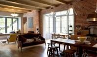 Interioare amenajate cu stil intr-o casa din Africa de Sud Karen si Gawie locuiesc impreuna cu