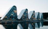 """Vine Valul! Spectaculoasa clădire """"The Wave"""" a fost finalizată Lucrarile la cladirea situata in orasul danez"""