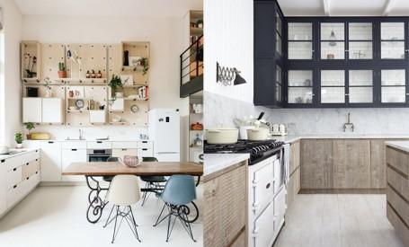 Idei pentru nişte dulapuri de bucătărie neconvenţionale