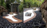 O gradina contemporana de inspiratie zen Conceptul de gradina zen a fost reinterpretat de-a lungul anilor