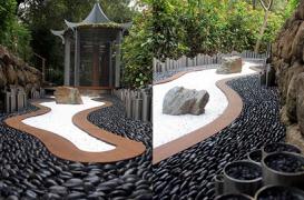 O gradina contemporana de inspiratie zen