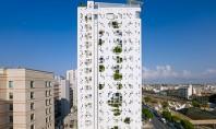 La turnul lui Jean Nouvel din Cipru plantele tasnesc prin pereti Echipa de proiectanti de la