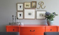 Estetica noua pentru mobilier vechi Sentimentul de satisfactie pe care il avem in momentul in care