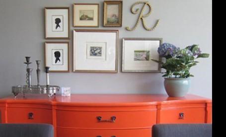 Estetica noua pentru mobilier vechi