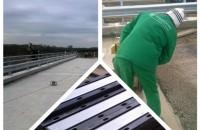 Hidroplasto a finalizat lucrarile de instalare dispozitive de acoperire rosturi dilatatie la podul din Rovinita Mare (Timis) Pe 19.10.2015 echipele Hidroplasto au finalizat lucrarile de instalare dispozitive de acoperire rosturi dilatatie la podul din loc. Rovinita Mare, com. Denta, jud. Timis.