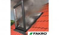 """Fereastra pentru evacuarea fumului FAKRO FSP o """"cale de salvare"""" in timpul unui incendiu FAKRO are"""