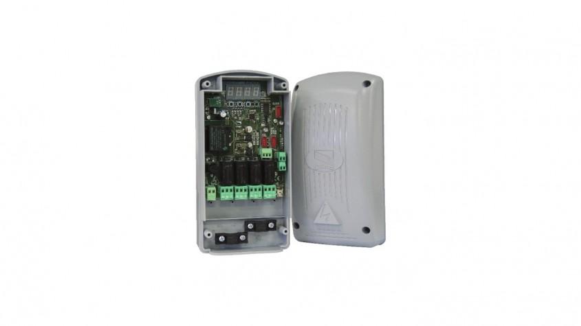 Receptor radio extern CAME pentru comandă automatizări