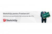 SketchUp la preț special pentru Freelanceri