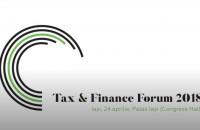 Tax & Finance Forum 2018 - 24 aprilie, Palas Iași
