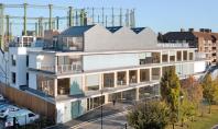 Constructia unei vechi fabrici este acum sediu de birouri Biroul de proiectare Architecture 00 a realizat