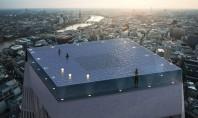 """Prima piscină """"infinity"""" cu priveliște de 360 de grade o minune tehnologică în vârful unui zgârie-nori"""