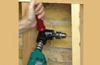 Dispozitiv de gaurire si insurubare la 90º 1390 - Drill90™