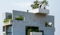 O casa in care predomina vegetatia si se cultiva legume Casa Binh reuseste performanta de a