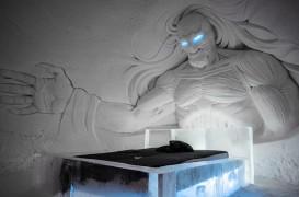 """Bucurie pentru fani: imagini cu noul hotel de gheață """"Game of Thrones"""""""
