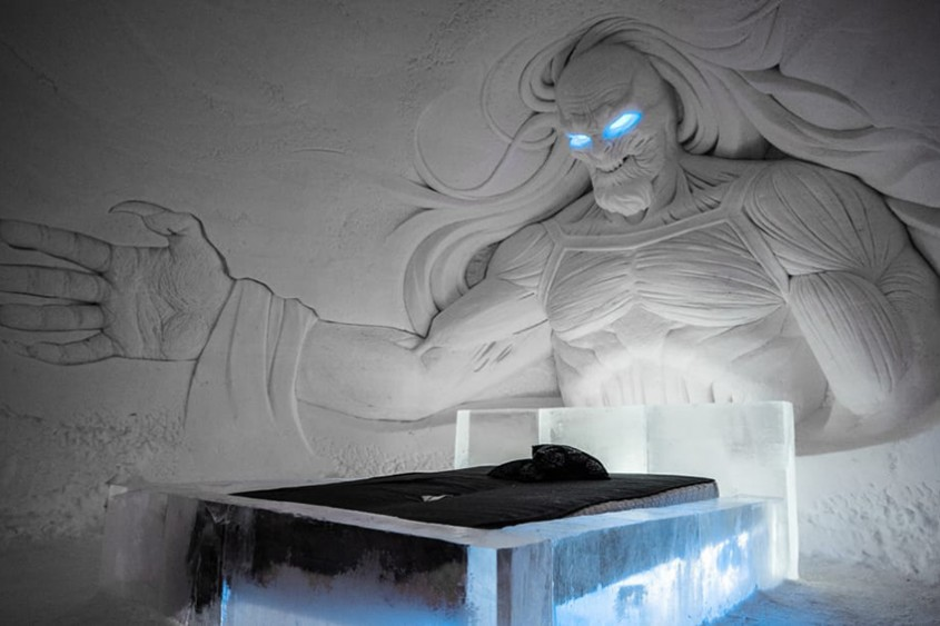 """Bucurie pentru fani - imagini cu noul hotel de gheață """"Game of Thrones"""""""