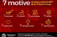 7 motive să alegi o barieră BFT de la Tritech Group