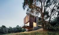 Casa Invermay volume din beton si lemn in mijlocul naturii Invermay House este o locuinta contemporana