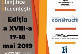 Sesiunea Națională de Comunicări Științifice Studențești - Facultatea de Construcții