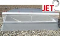 Accesorii pentru cupole luminatoare JET TOP 90 Cupolele luminatoare JET TOP 90 pentru ventilatia zilnica sau