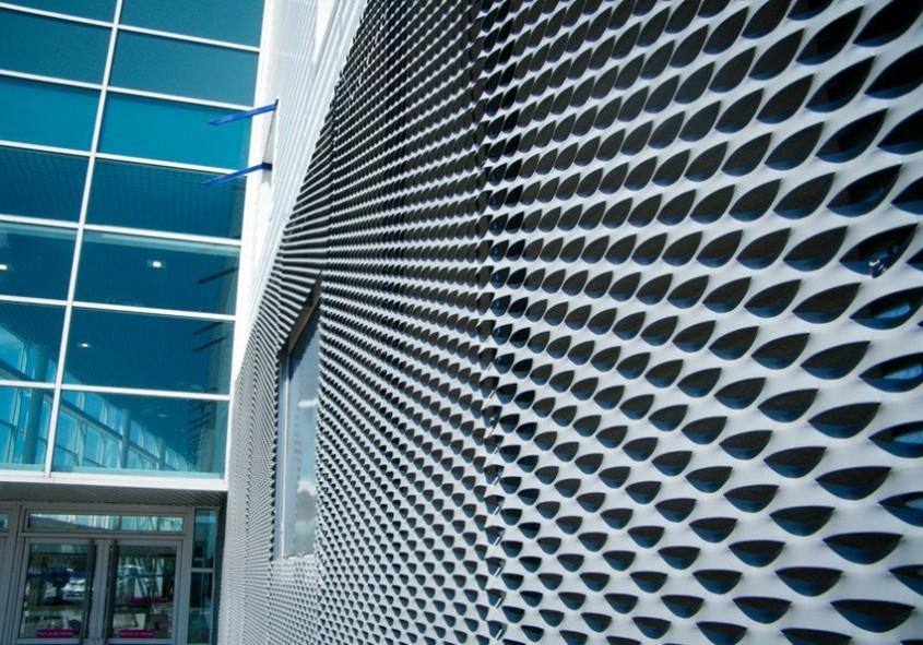 Tablă expandată în aplicaţii arhitecturale