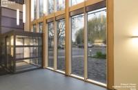 Tâmplăria din lemn stratificat pentru o locuință modernă