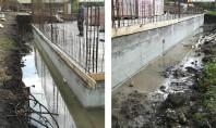 Hidroizolare fundație și pereți casă în Cluj-Napoca Aceste substanțe chimice active reacționează cu umiditatea betonului proaspăt
