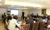 Seminar ascensoare Mitsubishi Electric Participantii prezenti la eveniment au obtinut detalii complete despre solutiile tehnice actuale