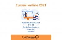 Calendarul cursurilor online CADWARE Engineering