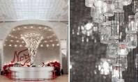 Peste 4 000 de borcane din sticlă folosite pentru pereții și tavanul unui bar Un proiect