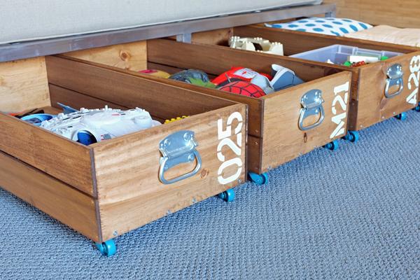 Proiect practic: sertare pentru depozitarea sub pat