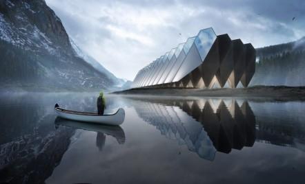 Un hotel futurist din capsule de beton care poate fi construit oriunde în lume