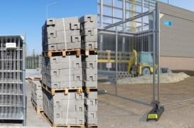 Împrejmuiri organizare şantier: Rapid, eficient şi sigur cu noile panouri mobile CB30