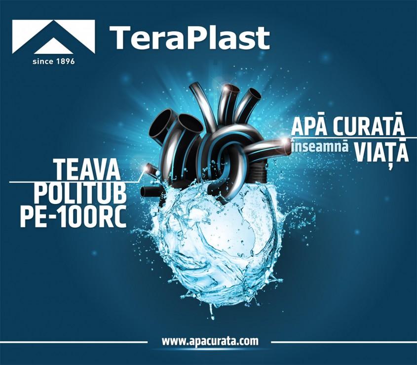 TeraPlast lansează campania de conștientizare <i>Apă curată înseamnă viață</i>