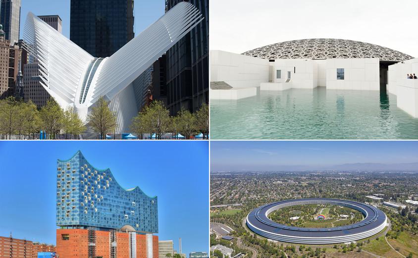 13 clădiri construite în ultimii cinci ani care au redefinit arhitectura