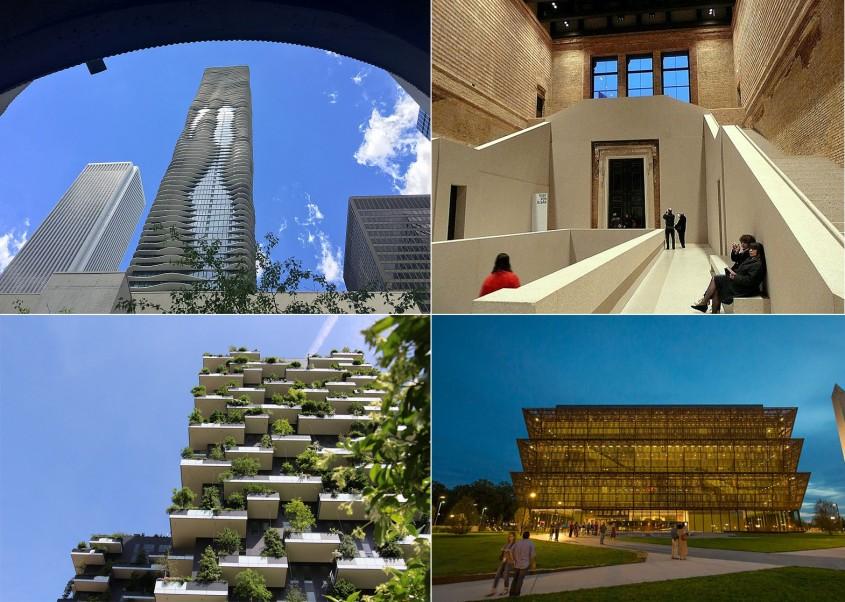 Clădirile de referință ale deceniului trecut