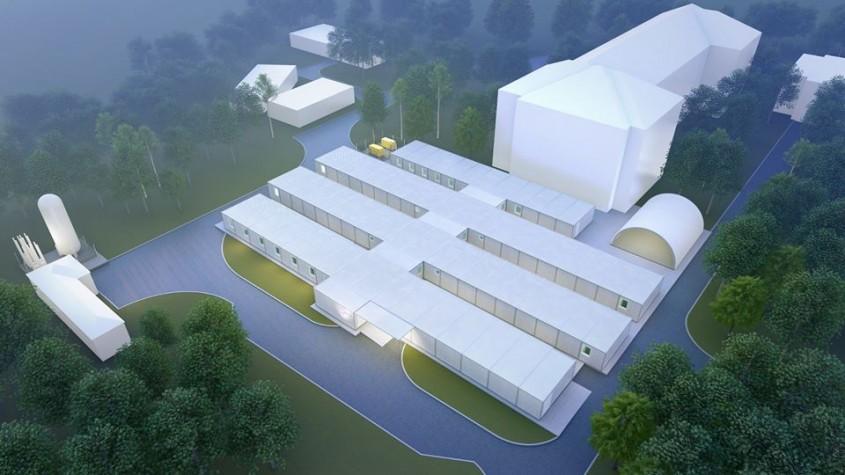 Asociaţia Dăruieşte Viaţa construieşte un spital modular pentru bolnavii de COVID-19